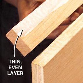 How to Install Edging for Plywood | Family Handyman
