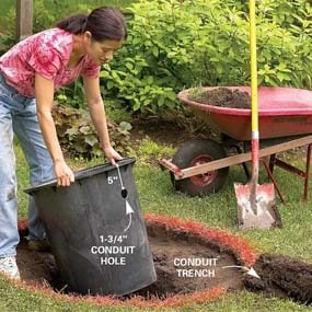 Dig a deep hole