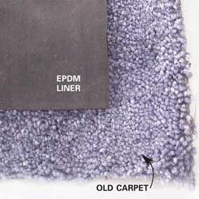 Carpet underlayment