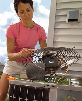 Photo 4: Remove the fan
