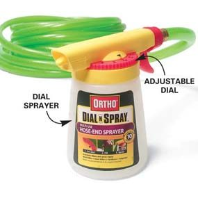 Photo 3A: Close-up of dial sprayer