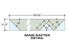 Tech art of the main rafter