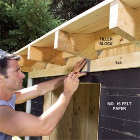 Schoolhouse Storage Shed The Family Handyman