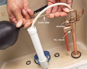 Parts Of A Toilet The Family Handyman