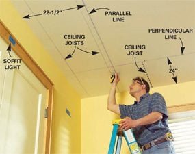 How to Build a Soffit Box with Recessed Lighting
