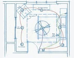 Wiring illustration