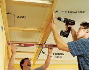 How to Build a Soffit Box with Recessed Lighting & How to Build a Soffit Box with Recessed Lighting | The Family Handyman