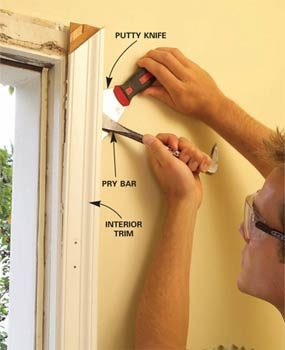 How To Replace Old Door With New
