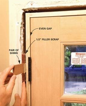 How To Replace An Exterior Door The Family Handyman