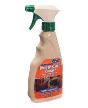 Use special leather/vinyl cleaner