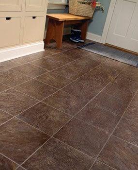 Vinyl floor image