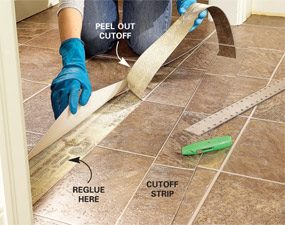 Install Vinyl Flooring in a Laundry Room