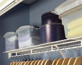 Keep fibers inside and dust outside closed containers.