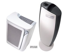 Example of a single-room air cleaner.