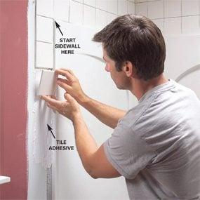 Install An Acrylic Tub And Tub Surround The Family Handyman