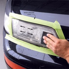 How To Clean Headlights The Family Handyaman The Family Handyman