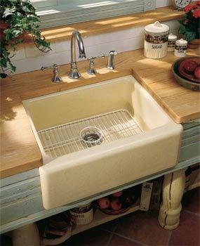 Single-bowl sink