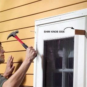 How To Adjust Storm Doors The Family Handyman