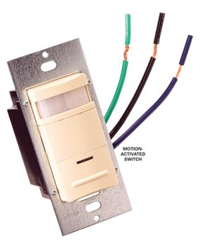 How to Find the Correct Motion-Activated Switch for Fluorescent Lights