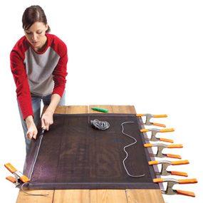 Photo 2: Roll in new spline