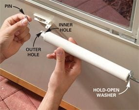 How to Make Perfect-Closing Screen Doors