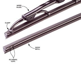 Wiper blade and refill
