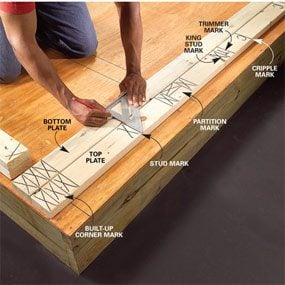 Wall Framing Tips For New Construction The Family Handyman