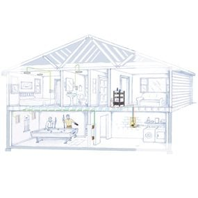 home audio installation install a whole house audio low voltage house wiring diagram low voltage doorbell wiring diagram