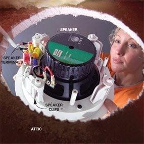 Photo 9: Install the speaker