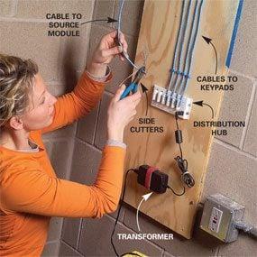 Photo 10: Prepare the Cat-5e cables