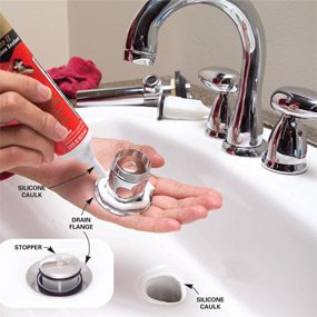 How to Replace a Faucet and Waste Line