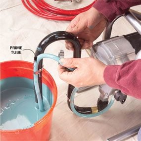 Painting With an Airless Sprayer