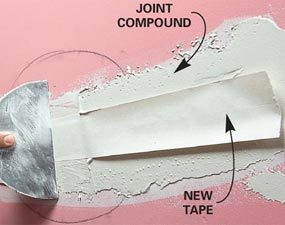 Photo 3: Apply tape