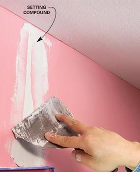 How To Paint Walls Prepare Interior Walls For Painting Family Handyman