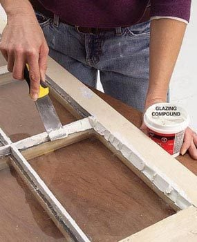 How To Glaze A Window Single Pane