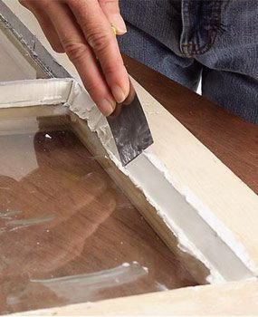 How To Remove Paint From Double Glazed Windows