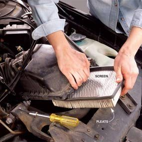 Car Maintenance: Air Filter Check & PCV Valves