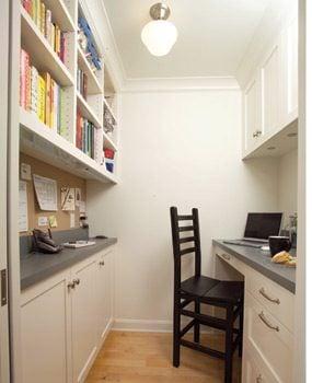 A kitchen multi-media center