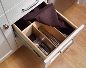 A true silverware drawer