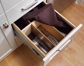 A true silverware drawer