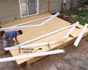 Photo 5: Build the trusses