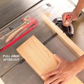 Photo 3: Remove the cutoff piece