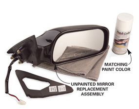 Replace a Broken Side View Mirror