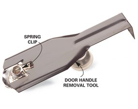 Door handle removal tool