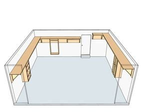 Figure A: High shelving plan