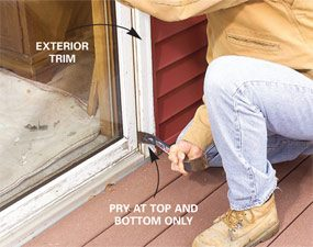 Replace a Patio Door