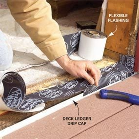 Photo 6: Apply flexible flashing