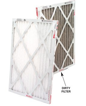 Check the furnace filter and air vents