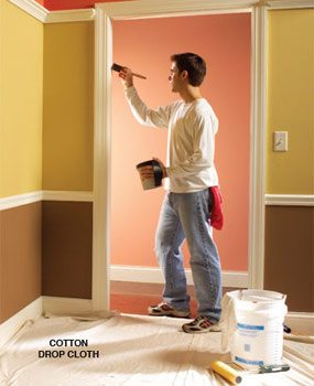 Beautiful 10 Interior House Painting Tips U0026 Painting Techniques For The Perfect Paint  Job