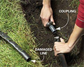 Photo 2: Splice in new pipe